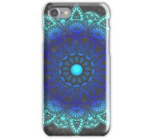 Blues Watercolor Mandala iPhone Case/Skin