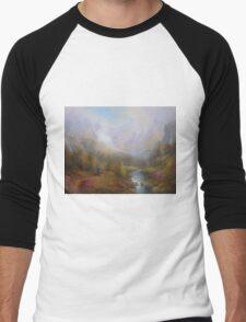 The Mountains Of Mist. Men's Baseball ¾ T-Shirt
