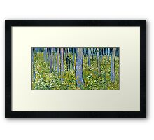 Vincent Van Gogh - Undergrowth With Two Figures, 1890  Framed Print