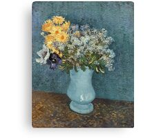 Vincent Van Gogh - Vase Of Flowers 1887 Canvas Print