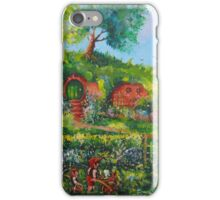 Summer Under The Hill. iPhone Case/Skin