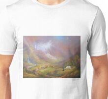 War Approaches (The white city). Unisex T-Shirt