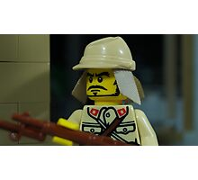 Lego Japanese Soldier Photographic Print