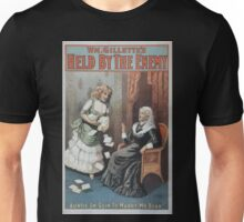 Performing Arts Posters Wm Gillettes Held by the enemy 0906 Unisex T-Shirt