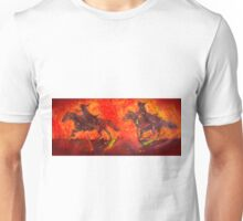 Riders In Black Unisex T-Shirt