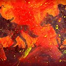 Riders In Black by Joe Gilronan