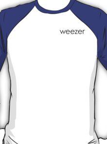 Weezer The Blue Album Minimalist  T-Shirt
