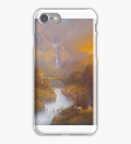 The Road To The Ford. iPhone Case/Skin