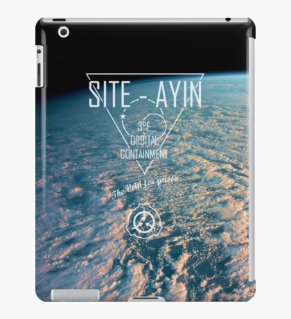 Site-Ayin SCP Visual   iPad Case/Skin