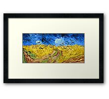 Vincent Van Gogh - Wheatfield With Crows, July 1890 - 1890  Framed Print