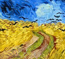 Vincent Van Gogh - Wheatfield With Crows, July 1890 - 1890  Sticker