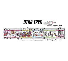 Star Trek TOS Sheet Music Art Photographic Print