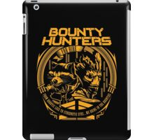 BOUNTY HUNTERS SERVICE V1 iPad Case/Skin