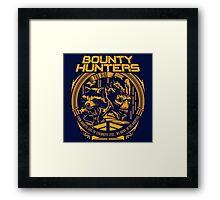 BOUNTY HUNTERS SERVICE V1 Framed Print