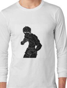 Baki Black Long Sleeve T-Shirt