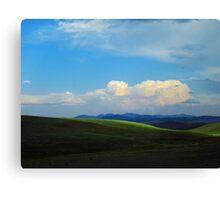 Stormy Rockies Canvas Print