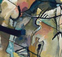 Wassily Kandinsky - Composition 5 1911  Sticker