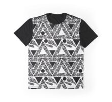 Art deco seamless geometric pattern with triangles. Graphic T-Shirt
