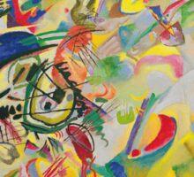 Wassily Kandinsky - Composition 7 1913  Sticker