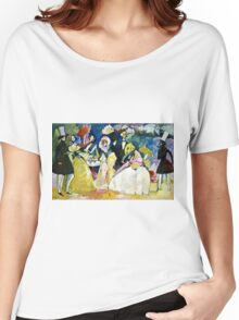 Wassily Kandinsky - Group In Crinolines  Women's Relaxed Fit T-Shirt