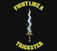 Fight Like A Trickster Tee by CrimsonEmblem
