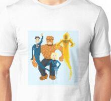 Fantastic Four Pixel Art Unisex T-Shirt
