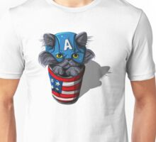 Cat-tin America Unisex T-Shirt