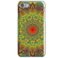 Oriental Watercolor Flower Mandala iPhone Case/Skin