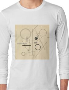 Wassily Kandinsky - Untitled 1923  Long Sleeve T-Shirt