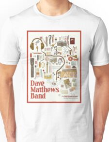 DMB IN The Gorge Amphitheatre, George, WA 2016 Unisex T-Shirt