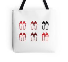 Retro simple shoes collection Tote Bag