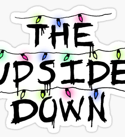 Stranger Things - The Upside Down Sticker