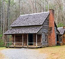 Cades Cove Cabin by Kenneth Keifer