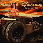 Rat Rod Rider at Gantt's Garage by ChasSinklier