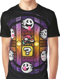 Boos in the Haunted House Graphic T-Shirt