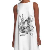 Mad Hatter, Alice in Wonderland A-Line Dress