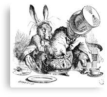 Mad Hatter, Alice in Wonderland Canvas Print