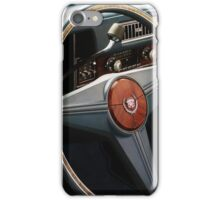 Fraserburgh Vintage Car Rally - Cadillac Interior iPhone Case/Skin