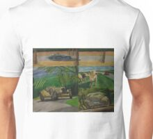 Painting Oldtimers in the nature Unisex T-Shirt