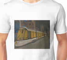 Painting Tram van De Lijn in Gent Unisex T-Shirt