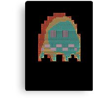 Scared Pac-Man Ghost Canvas Print