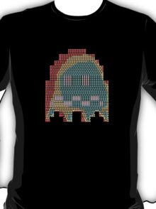 Scared Pac-Man Ghost T-Shirt