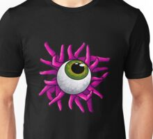 Eyeball Pink Unisex T-Shirt