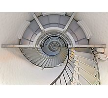 Going Up - Lighthouse Interior Photographic Print