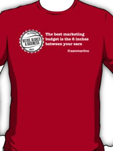 Marketing Budget... T-Shirt