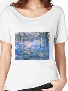 Claude Monet - Water Lilies 1919 Women's Relaxed Fit T-Shirt