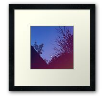 Still A Dark Night Framed Print
