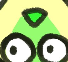 Crystal Germs_Peridot Sticker