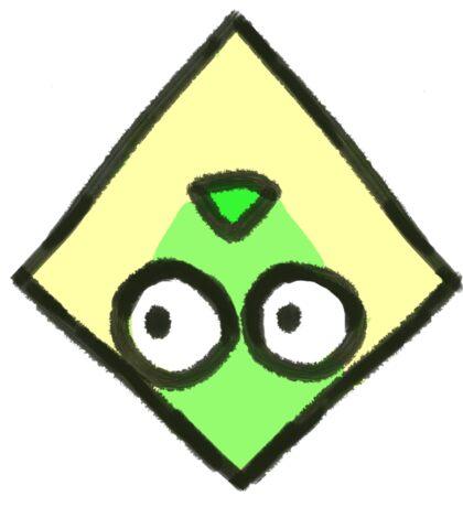 Crystal Germs_Peridot Sticker