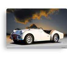 Triumph 'Supercharged' TR3A Canvas Print